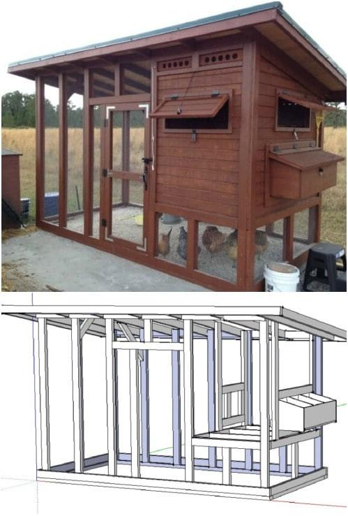 Best ideas about DIY Chicken Coop Plans . Save or Pin 20 Free DIY Chicken Coop Plans You Can Build This Weekend Now.