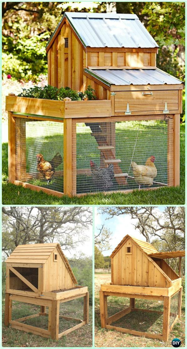 Best ideas about DIY Chicken Coop Plans . Save or Pin DIY Wood Chicken Coop Free Plans & Instructions Now.