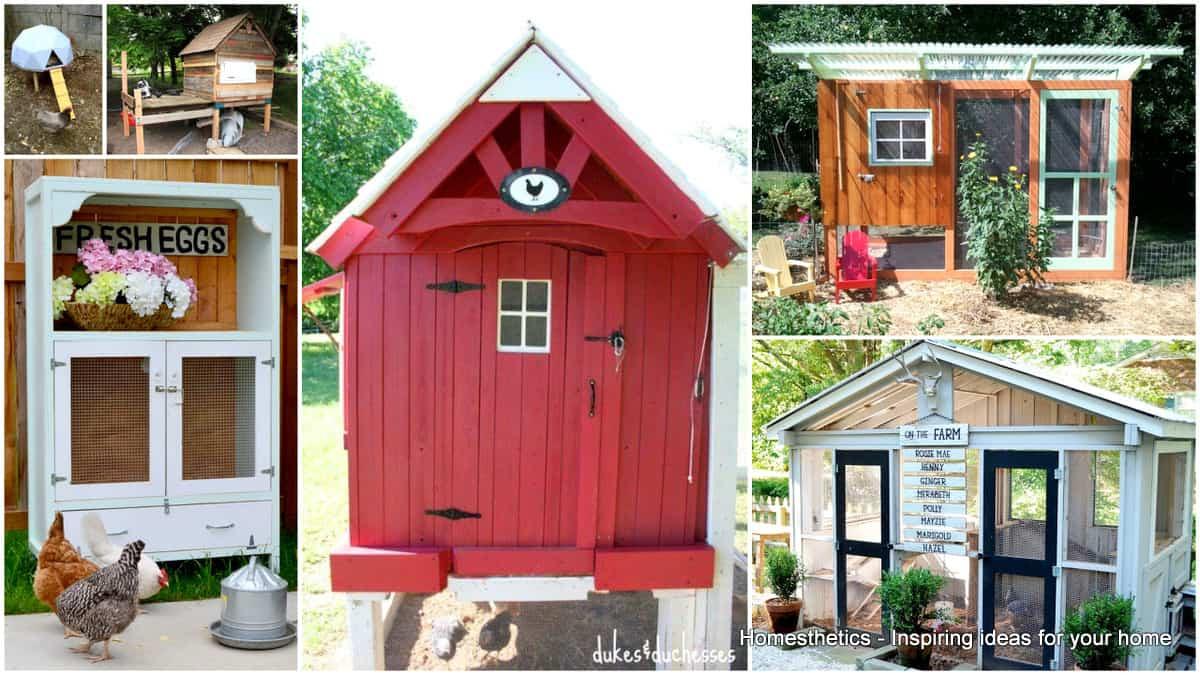 Best ideas about DIY Chicken Coop Plans . Save or Pin 57 DIY Chicken Coop Plans in Easy to Build Tutorials 100 Now.