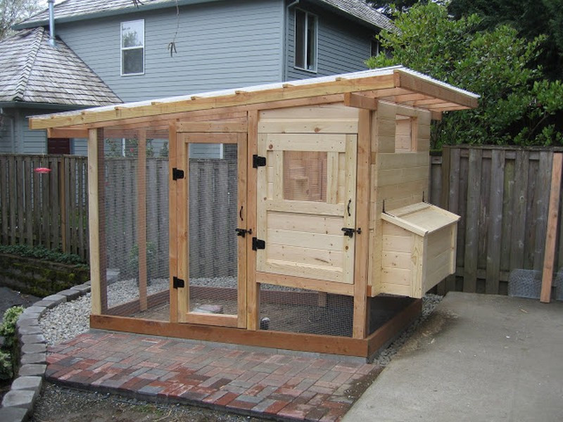 Best ideas about DIY Chicken Coop Plans . Save or Pin Homemade Chicken Coop Now.