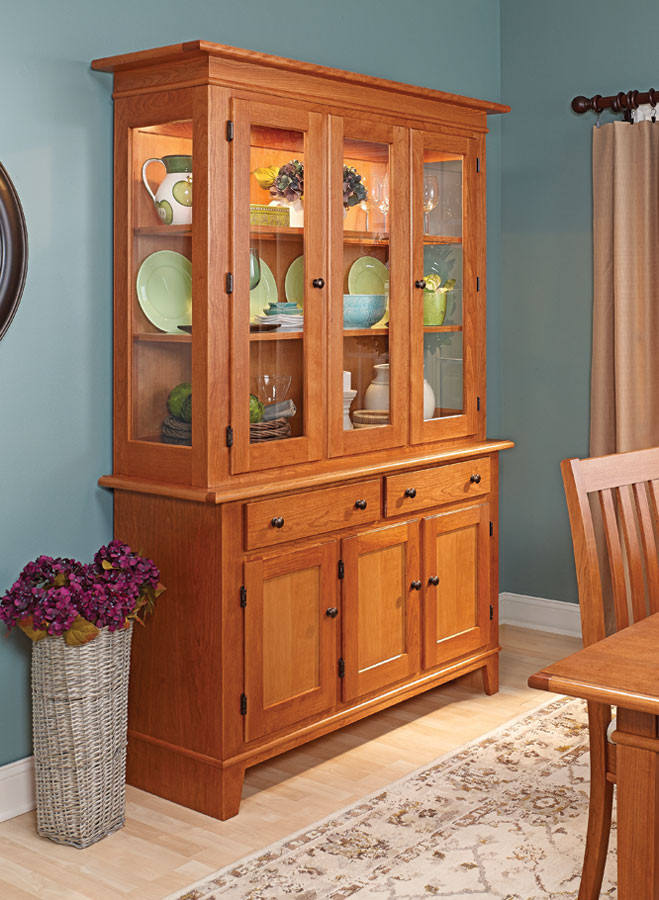 Best ideas about DIY China Cabinet Plans . Save or Pin Cherry Hutch Now.