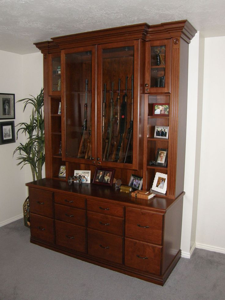 Best ideas about DIY China Cabinet Plans . Save or Pin 17 best gun cabinets images on Pinterest Now.