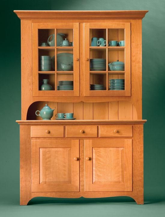 Best ideas about DIY China Cabinet Plans . Save or Pin plans for wood hutch Honeydo s Now.