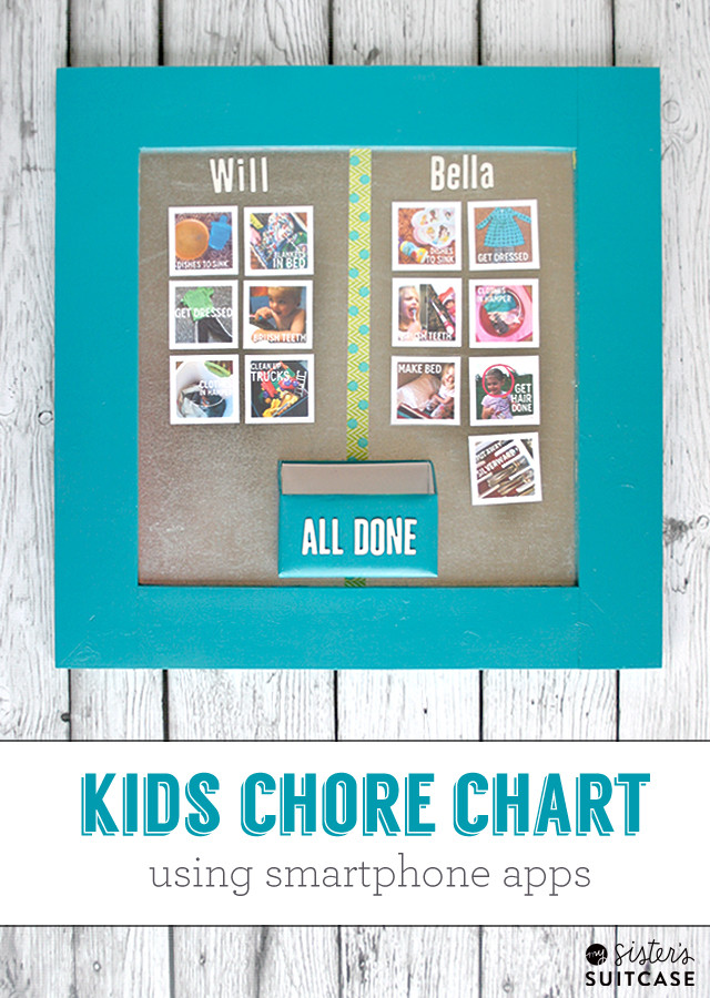 Best ideas about DIY Chore Chart For Kids . Save or Pin DIY Kids Chore Chart My Sister s Suitcase Packed Now.