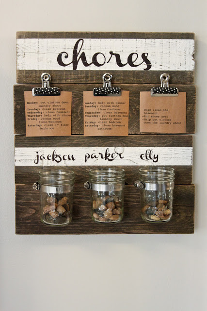 Best ideas about DIY Chore Chart For Kids . Save or Pin Chore charts 8 DIY ideas Today s Parent Now.