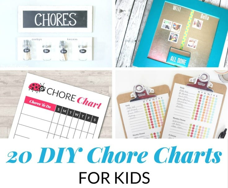 Best ideas about DIY Chore Chart For Kids . Save or Pin 20 DIY CHORE CHARTS FOR KIDS Now.