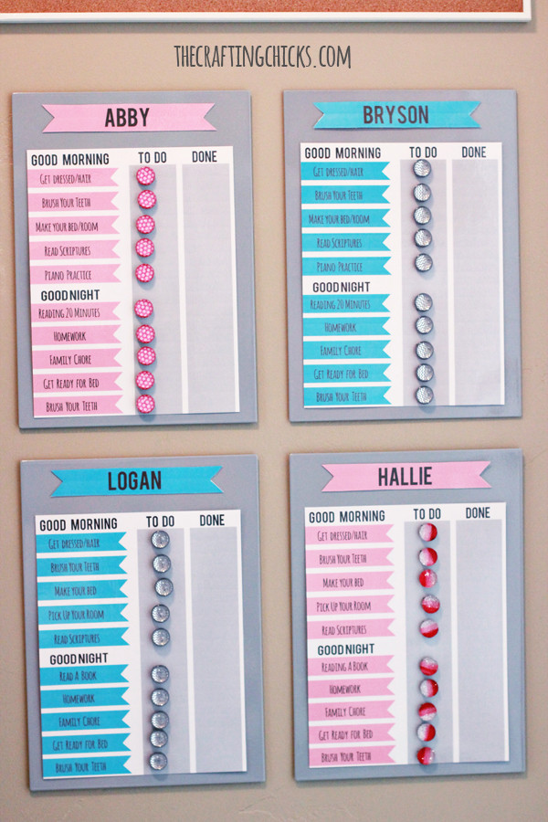 Best ideas about DIY Chore Chart For Kids . Save or Pin 19 Creative DIY Chore Charts That Really Work Shelterness Now.