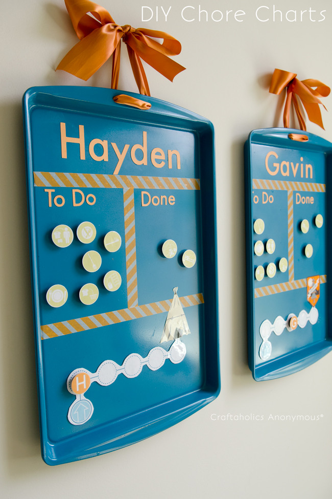 Best ideas about DIY Chore Chart For Kids . Save or Pin Craftaholics Anonymous Now.