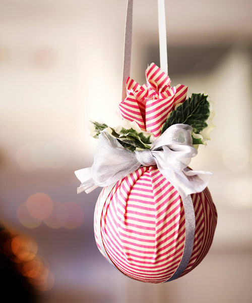 Best ideas about DIY Christmas Ball Ornaments . Save or Pin 41 DIY Christmas Decorations Christmas Decorating Ideas Now.