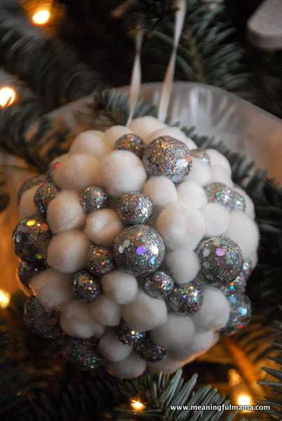 Best ideas about DIY Christmas Ball Ornaments . Save or Pin 12 DIY Metallic Holiday Decor Ideas Now.