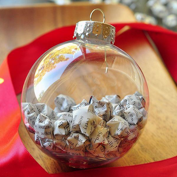 Best ideas about DIY Christmas Ball Ornaments . Save or Pin 25 DIY Crafts Featuring The Simple Christmas Ball Ornament Now.