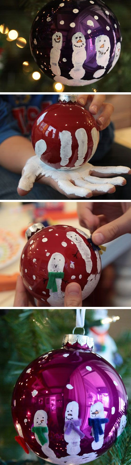 Best ideas about DIY Christmas Craft For Kids . Save or Pin Easy and Cute DIY Christmas Crafts for Kids to Make Hative Now.