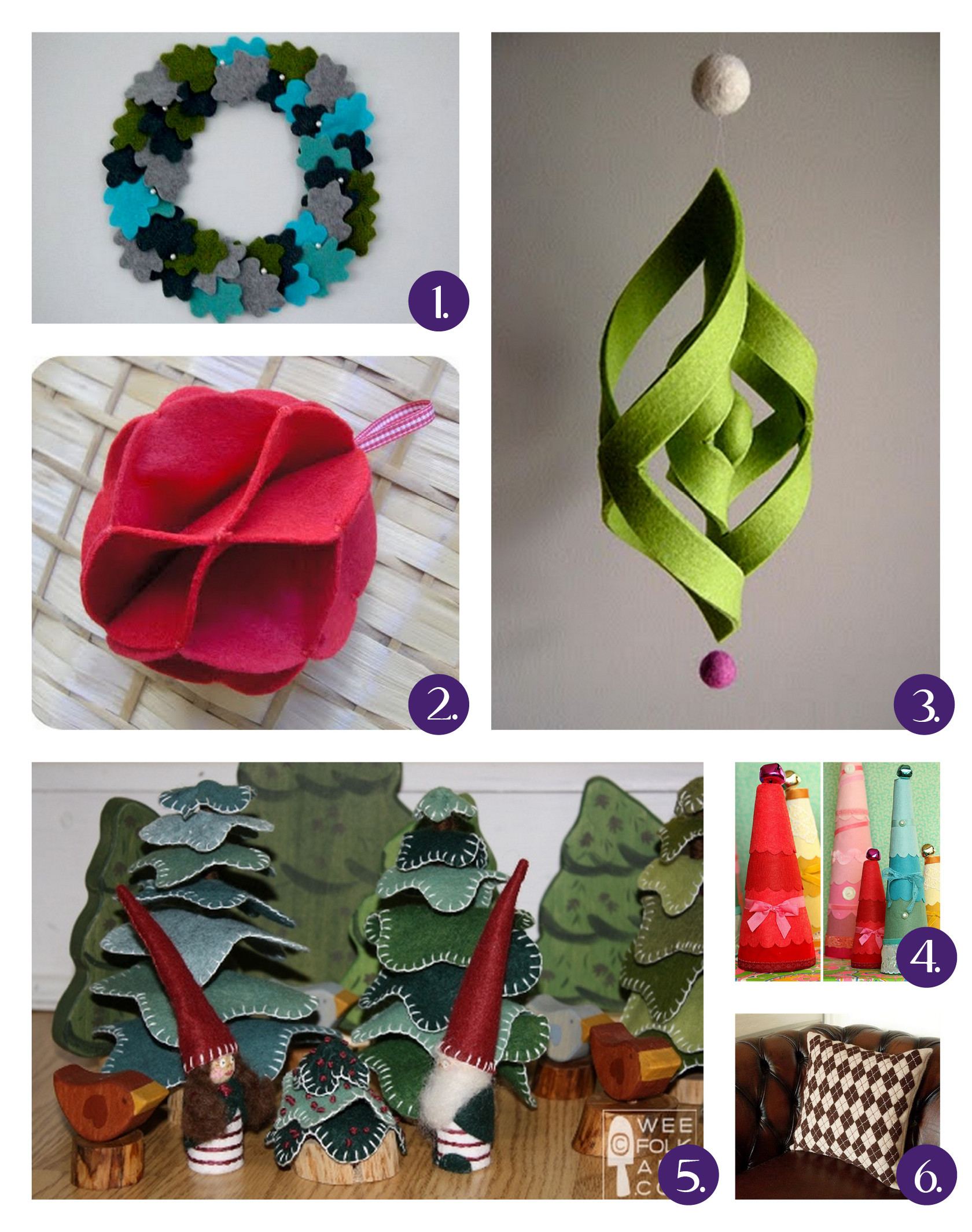 Best ideas about DIY Christmas Crafts . Save or Pin DIY Christmas Felt Crafts Now.