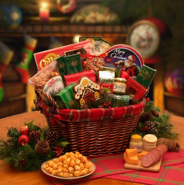 Best ideas about DIY Christmas Gift Baskets Ideas . Save or Pin Christmas basket ideas – the perfect t for family and Now.