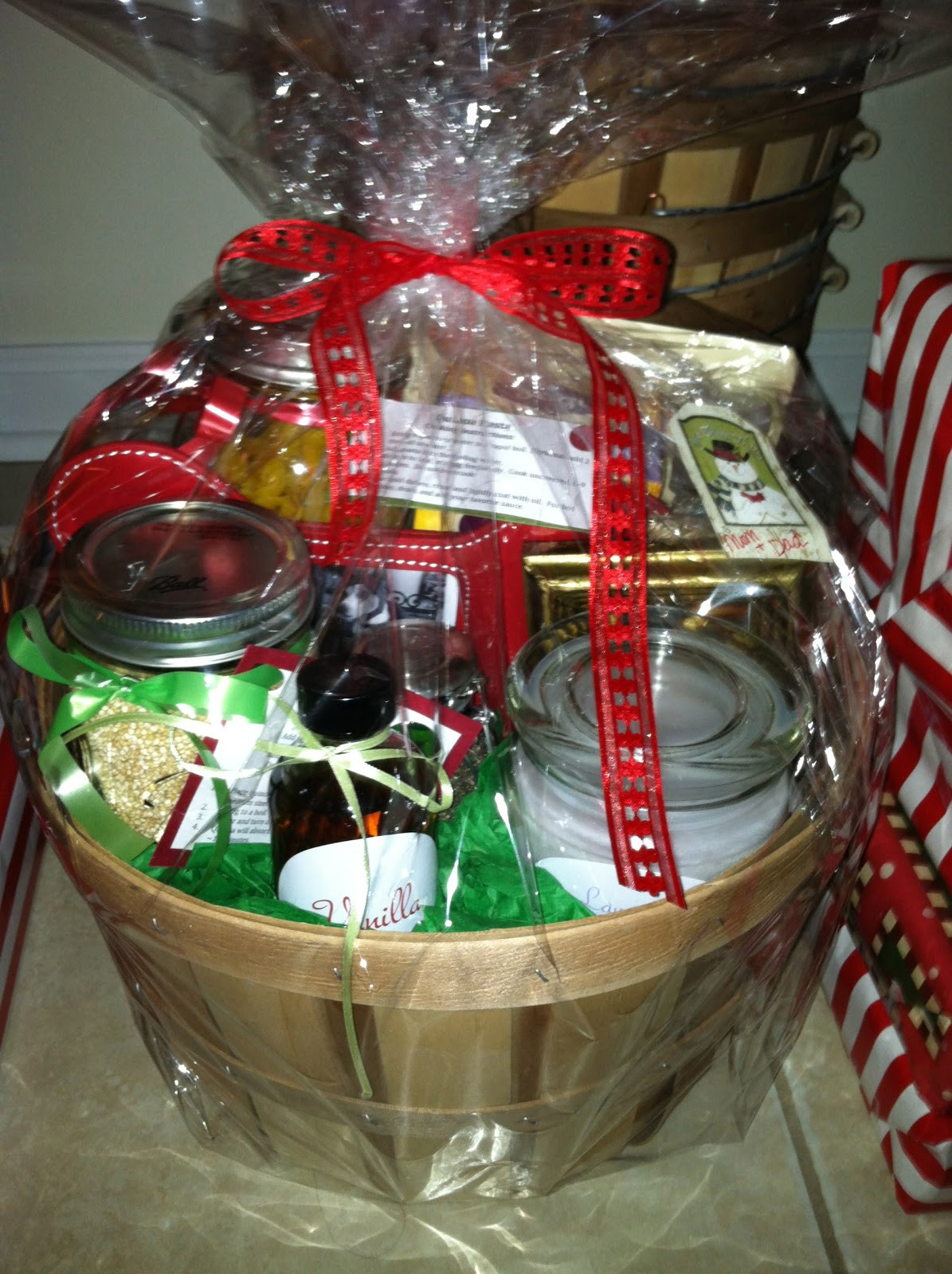 Best ideas about DIY Christmas Gift Baskets Ideas . Save or Pin melicipes Healthy & Homemade Gift Baskets Now.