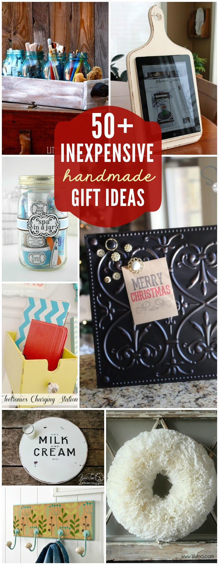 Best ideas about DIY Christmas Gift . Save or Pin 50 Inexpensive DIY Gift Ideas Now.