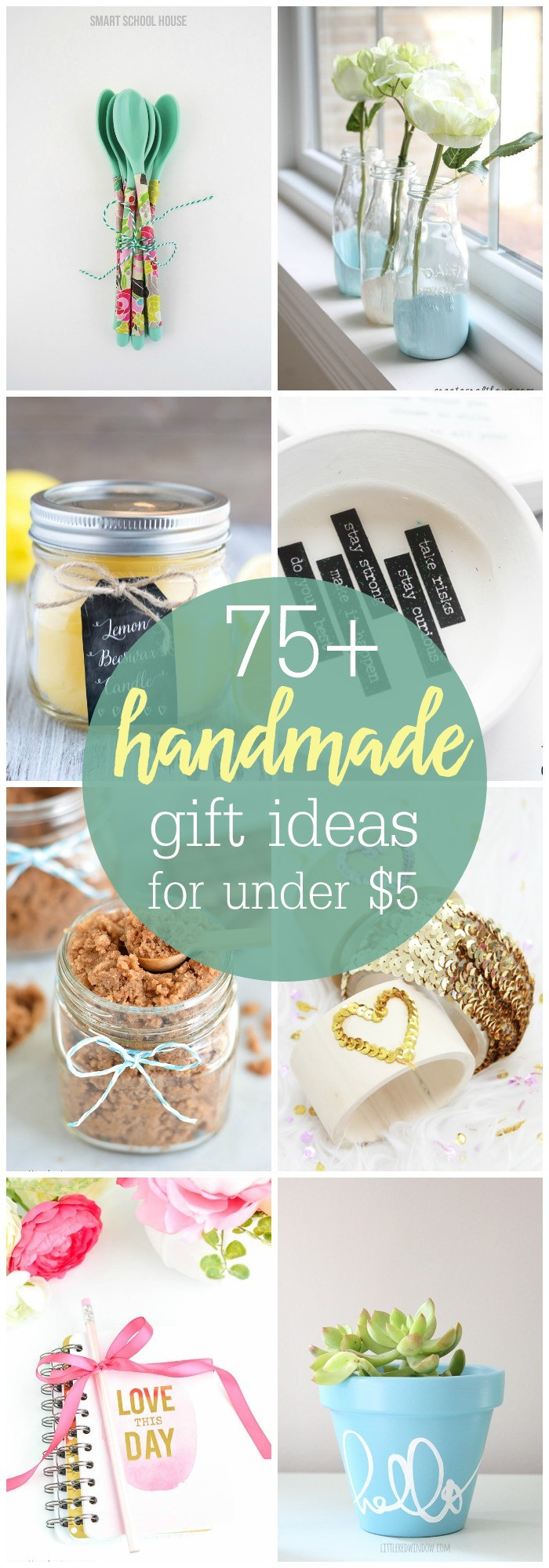 Best ideas about DIY Christmas Gift . Save or Pin DIY Gifts under $5 Now.