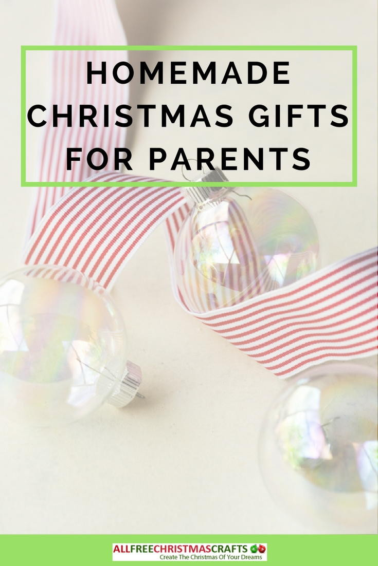 Best ideas about DIY Christmas Gift For Parents . Save or Pin What Are Good Homemade Christmas Gifts for Parents Now.