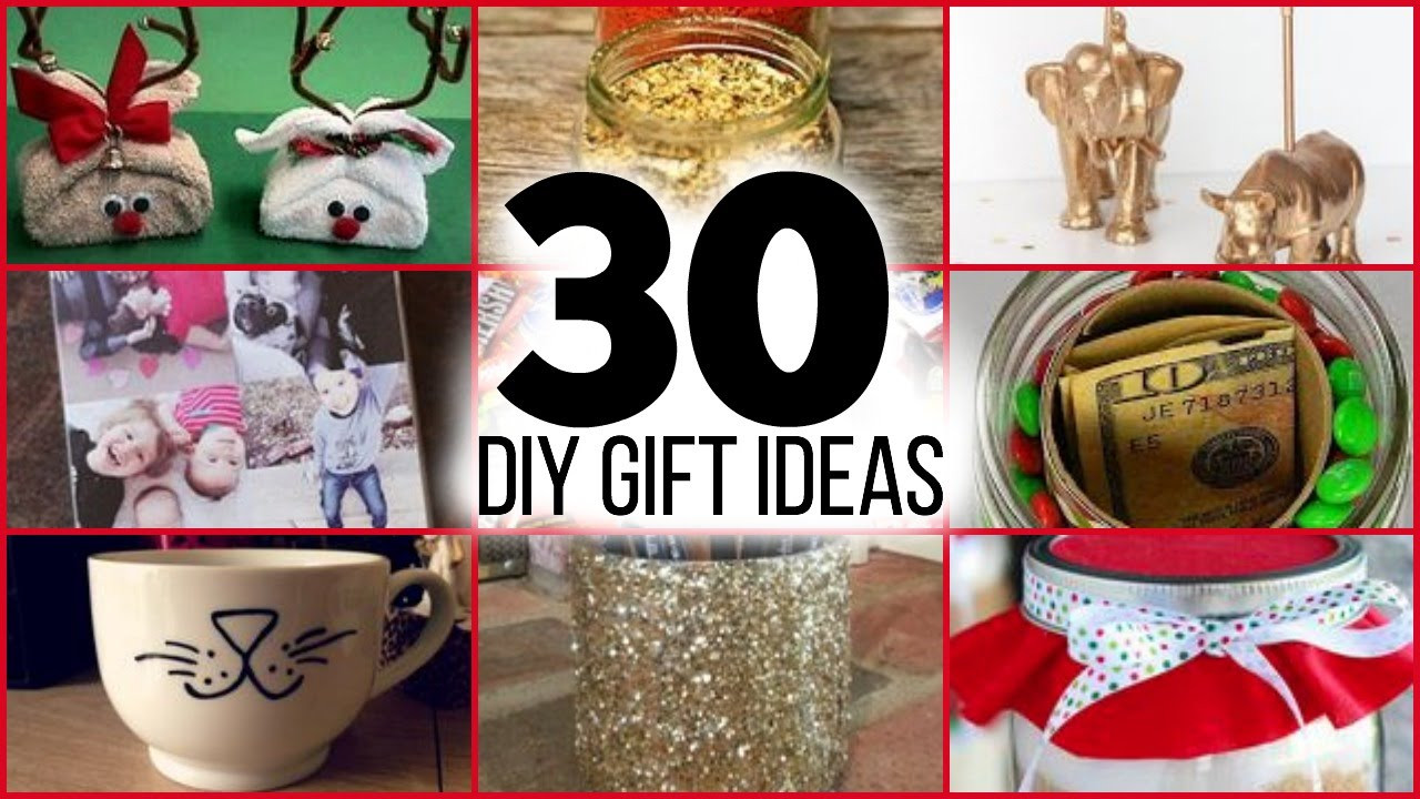 Best ideas about DIY Christmas Gift For Parents . Save or Pin 30 DIY CHRISTMAS GIFTS FOR GUYS GIRLS PARENTS FRIENDS Now.