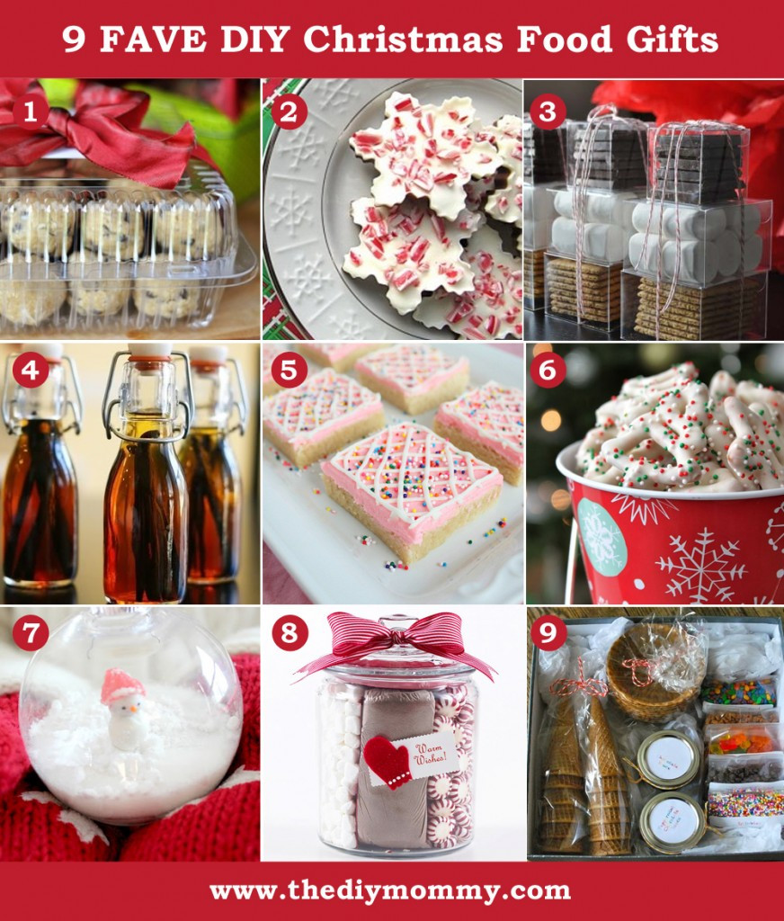 Best ideas about DIY Christmas Gift . Save or Pin A Handmade Christmas DIY Food Gifts Now.