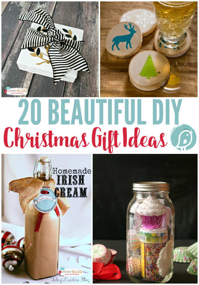 Best ideas about DIY Christmas Gift . Save or Pin 20 DIY Christmas Gift Ideas Now.