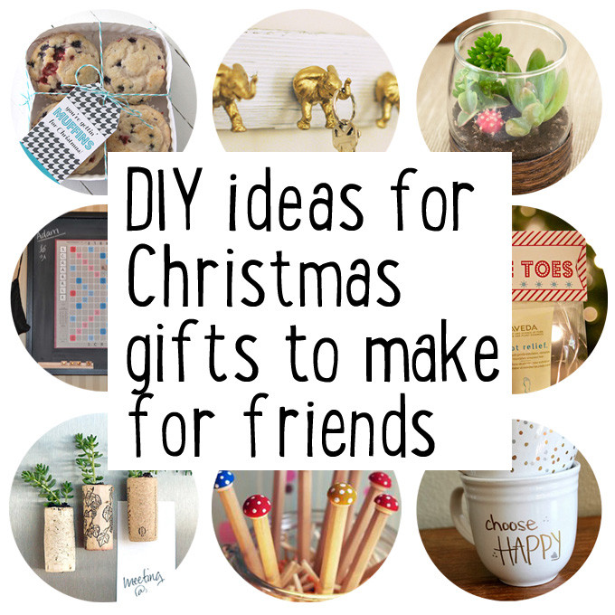 Best ideas about DIY Christmas Gifts For Best Friends . Save or Pin Make some Christmas ts for friends Maxabella Loves Now.