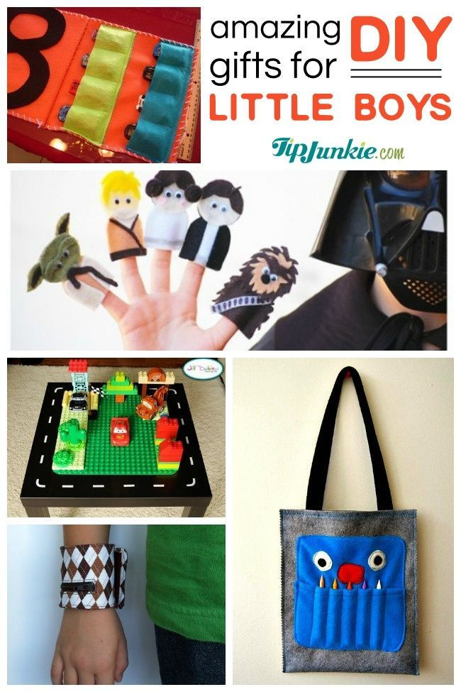 Best ideas about DIY Christmas Gifts For Boys . Save or Pin 40 Awesome DIY Gifts for little boys Now.