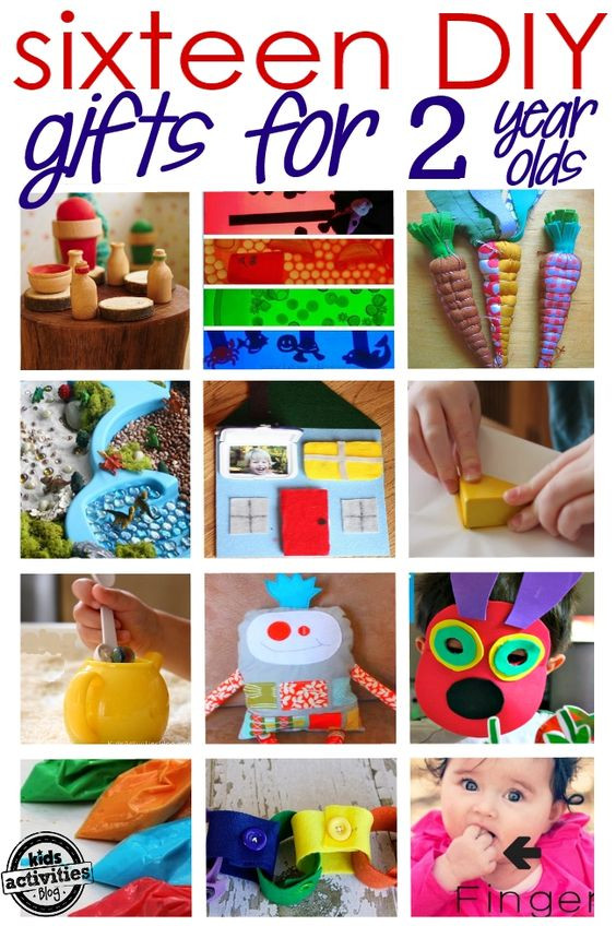 Best ideas about DIY Christmas Gifts For Boys . Save or Pin 16 Adorable Homemade Gifts for a 2 Year Old Now.