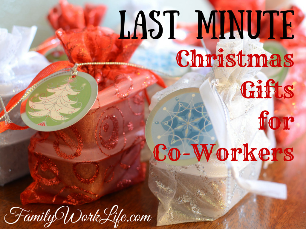 Best ideas about DIY Christmas Gifts For Coworkers . Save or Pin diy – Family Work Life graphy Now.