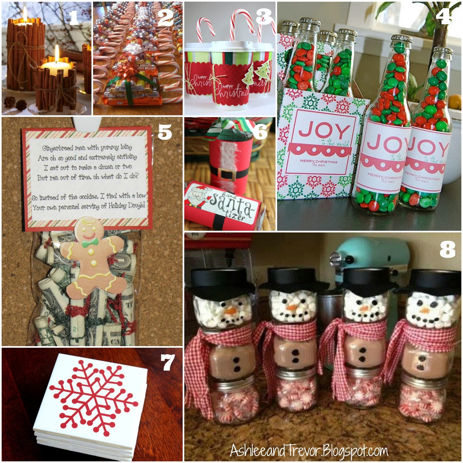 Best ideas about DIY Christmas Gifts For Coworkers . Save or Pin Smith Family DIY Inexpensive Christmas Gifts Now.