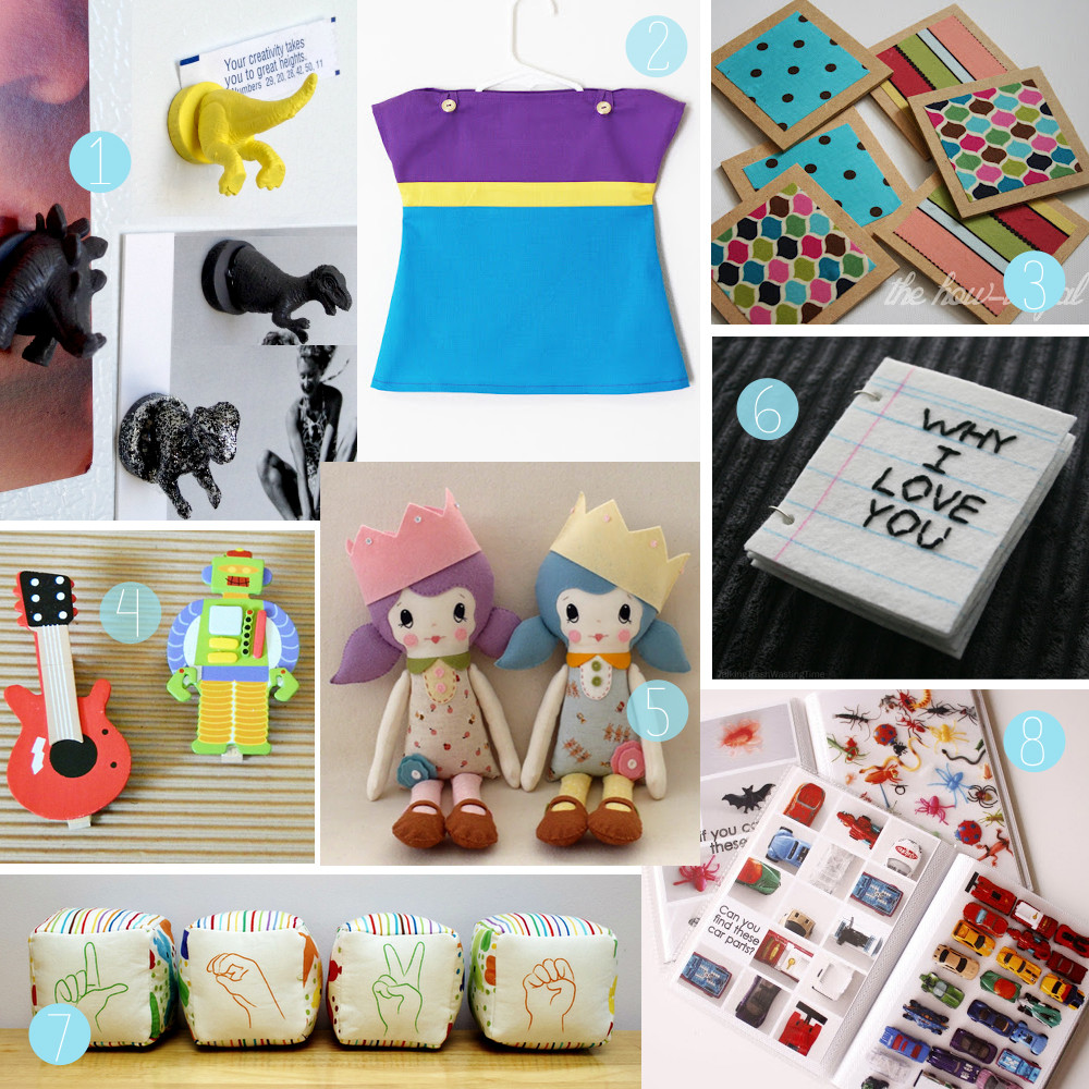 Best ideas about DIY Christmas Gifts For Kids . Save or Pin The How To Gal DIY Christmas Gift Guide For Children 2012 Now.