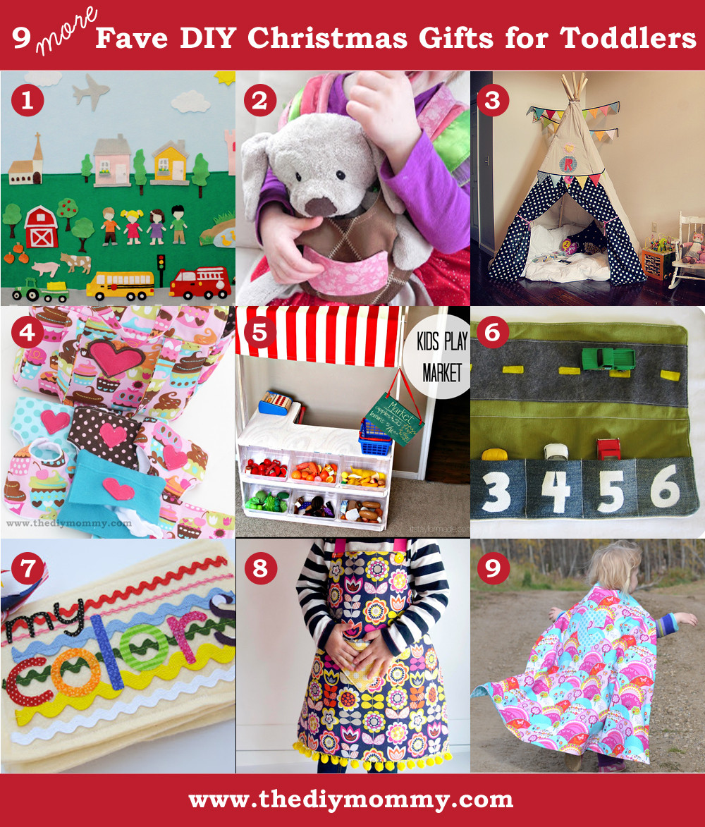 Best ideas about DIY Christmas Gifts For Kids . Save or Pin A Handmade Christmas More DIY Toddler Gifts Now.