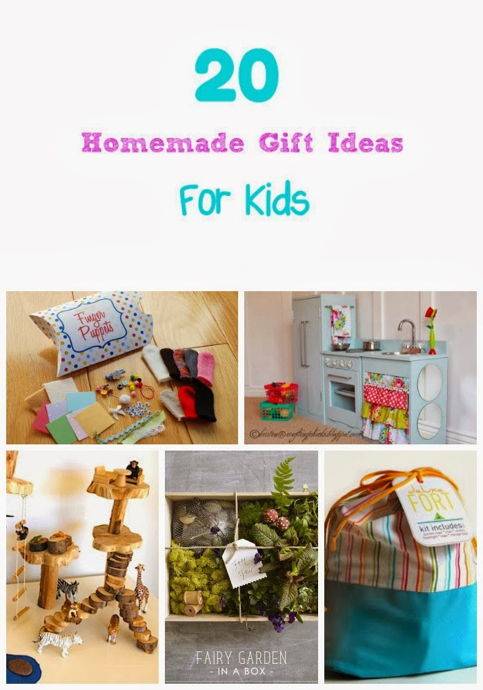 Best ideas about DIY Christmas Gifts For Kids . Save or Pin Life With 4 Boys 20 Homemade Christmas Gift Ideas for Kids Now.