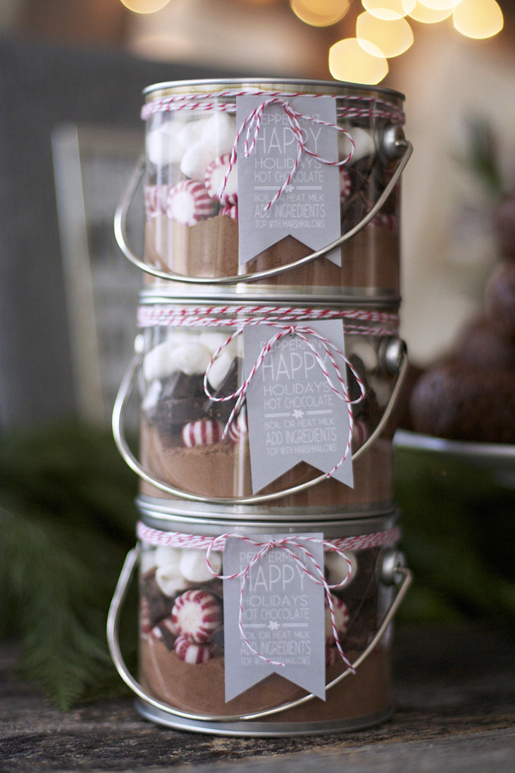 Best ideas about DIY Christmas Ideas . Save or Pin life lemons and vodka DIY Christmas Gifts Hot Cocoa Now.