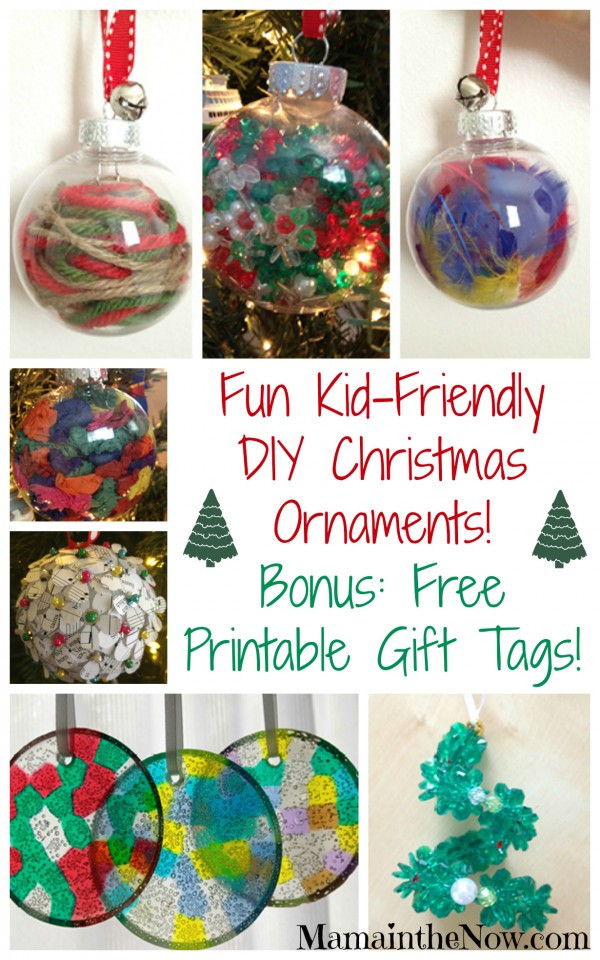 Best ideas about DIY Christmas Ornament For Kids . Save or Pin Easy Kid Friendly DIY Christmas Ornaments Now.