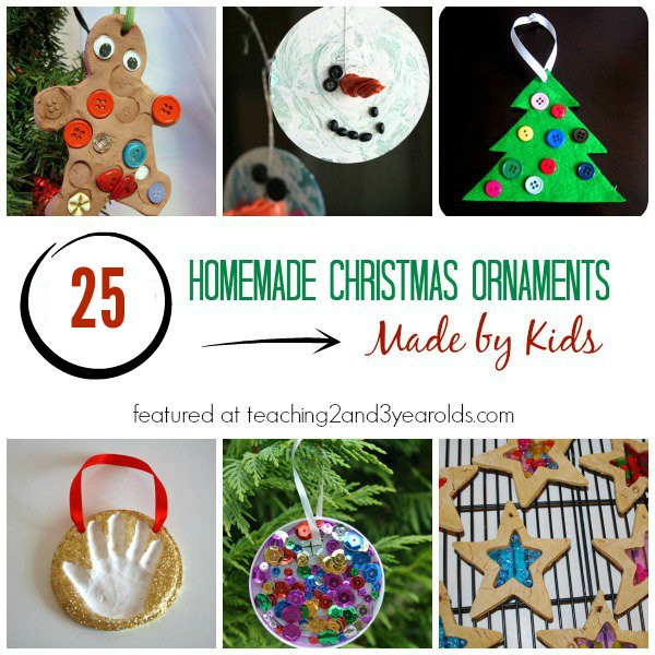 Best ideas about DIY Christmas Ornament For Kids . Save or Pin 25 Homemade Christmas Ornaments for Kids Now.
