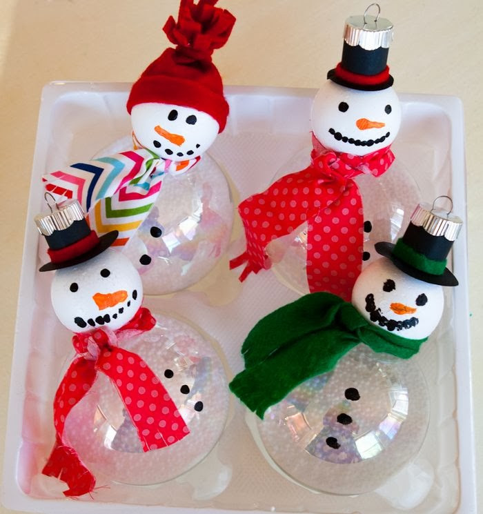 Best ideas about DIY Christmas Ornaments For Kids . Save or Pin Super Fun Kids Crafts Homemade Christmas Ornaments For Now.