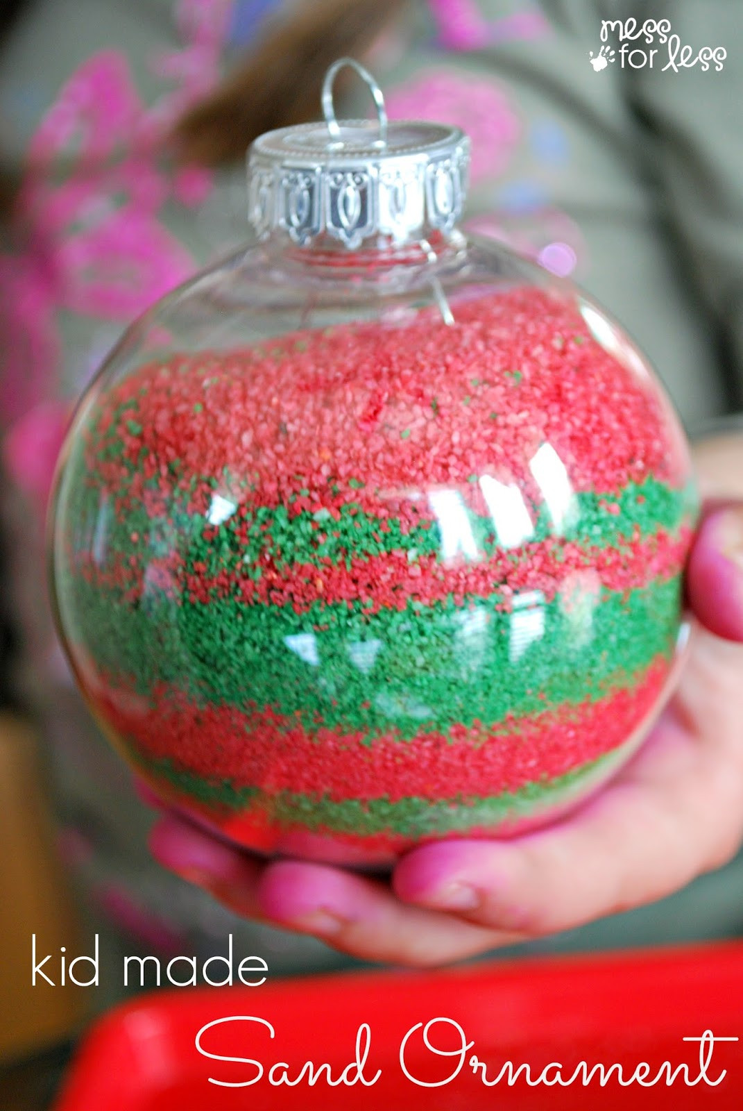 Best ideas about DIY Christmas Ornaments For Kids . Save or Pin Kids Homemade Christmas Ornaments Mess for Less Now.