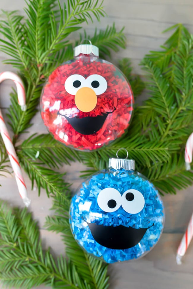 Best ideas about DIY Christmas Ornaments For Toddlers . Save or Pin 13 DIY Holiday Ornaments Kids Can Make Pretty My Party Now.