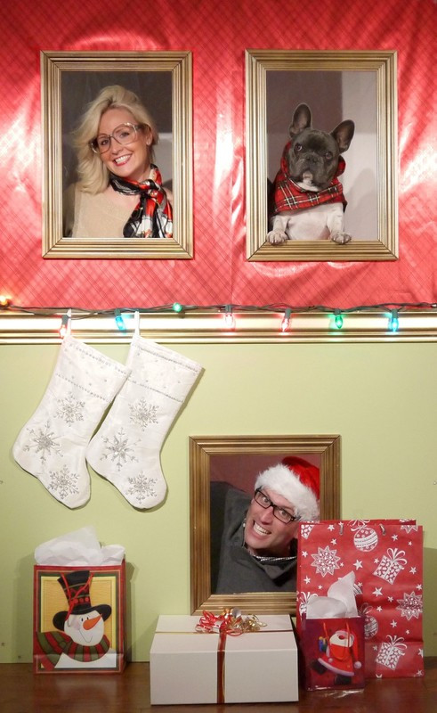 Best ideas about DIY Christmas Photo Booth . Save or Pin Diy Holiday Wall Booth · How To Make A Now.