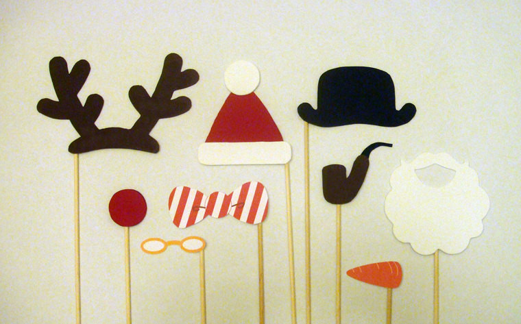 Best ideas about DIY Christmas Photo Booth . Save or Pin Holiday Christmas booth Props DIY Printable PDF Now.