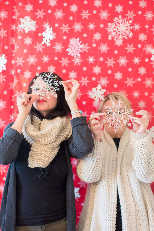 Best ideas about DIY Christmas Photo Booth . Save or Pin 'Tis the Season to Smile 15 Holiday Booth Ideas Now.