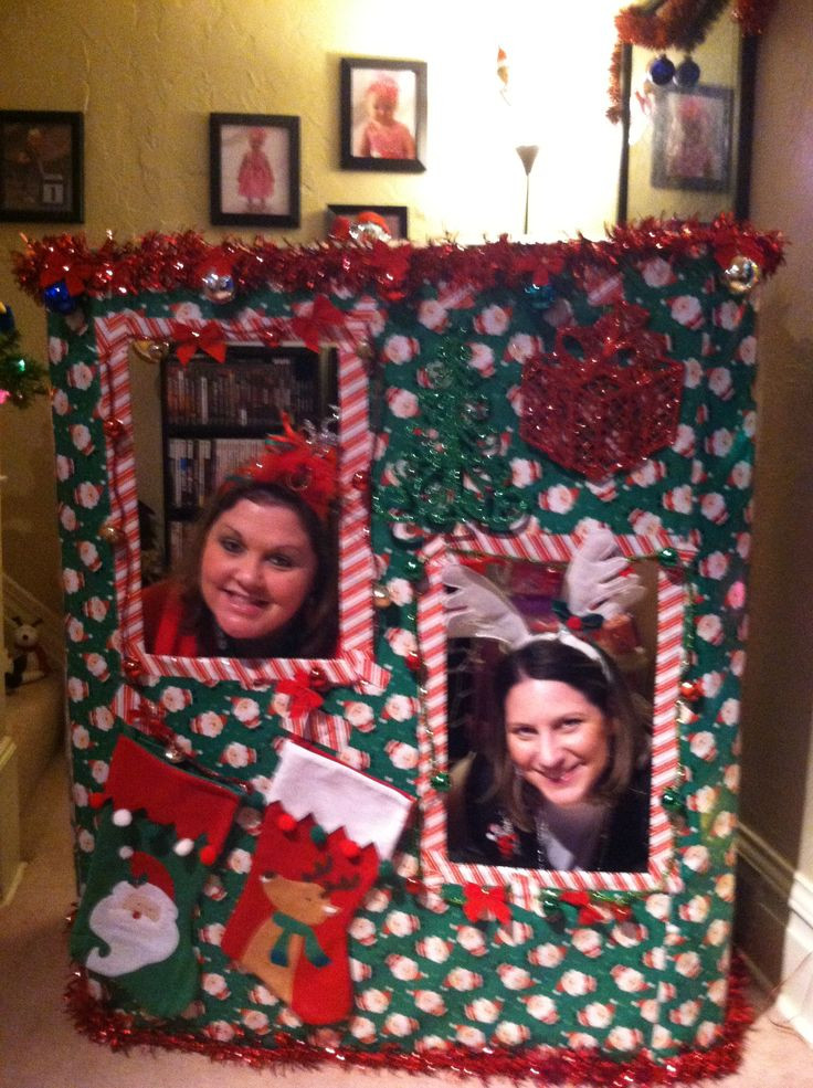 Best ideas about DIY Christmas Photo Booth . Save or Pin 25 best ideas about Christmas Booth on Pinterest Now.