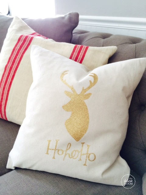 Best ideas about DIY Christmas Pillow . Save or Pin 25 DIY Christmas Decorations The Idea Room Now.