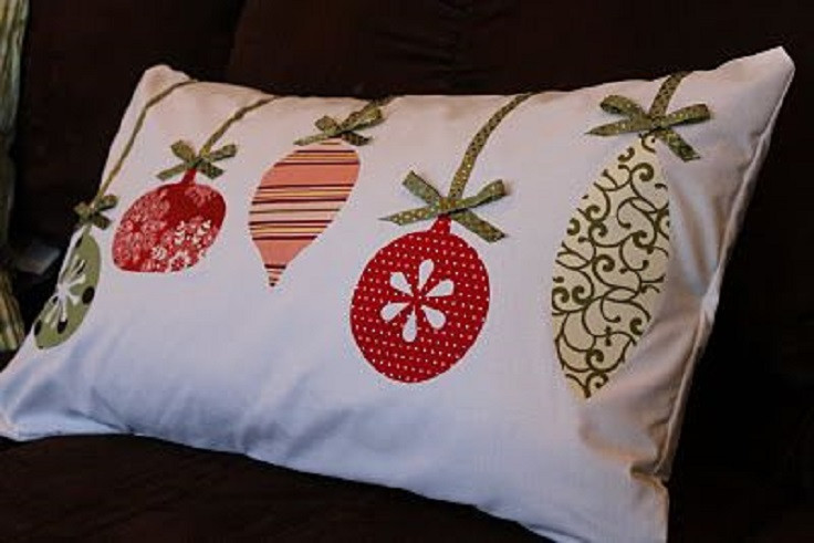 Best ideas about DIY Christmas Pillow . Save or Pin Top 10 Adorable DIY Christmas Pillows Top Inspired Now.