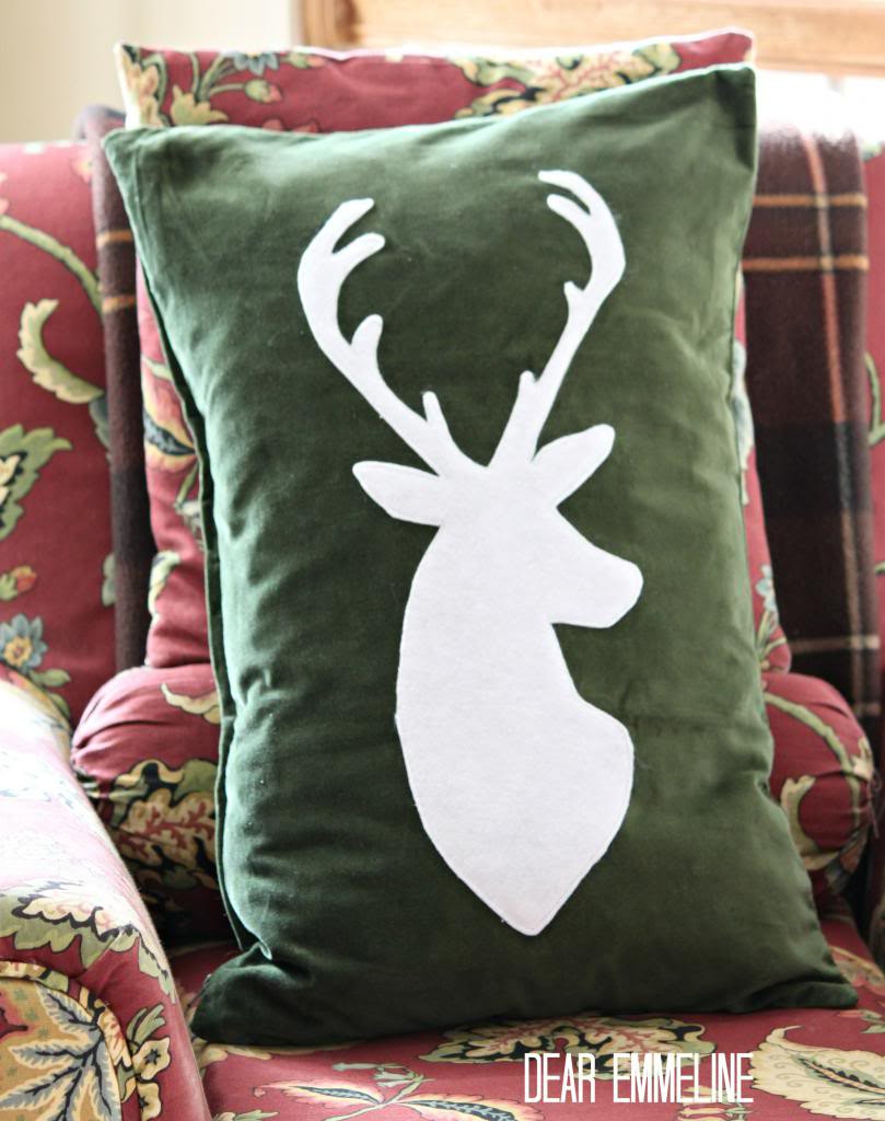 Best ideas about DIY Christmas Pillow . Save or Pin DIY Christmas pillow tutorials Now.