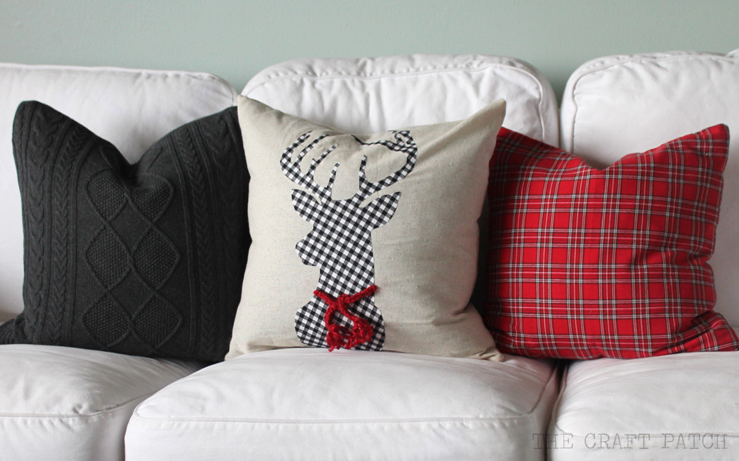 Best ideas about DIY Christmas Pillow . Save or Pin DIY Christmas Pillows thecraftpatchblog Now.