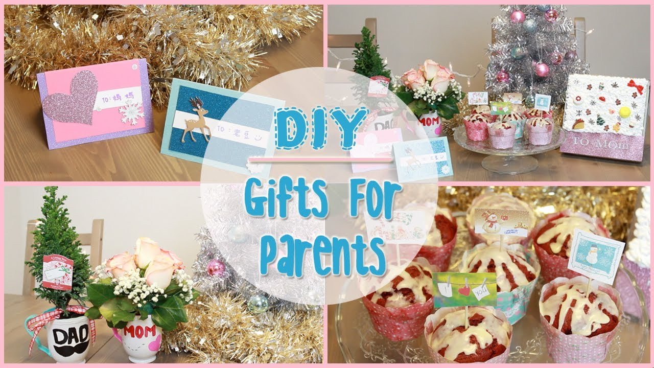 Best ideas about DIY Christmas Present For Mom . Save or Pin DIY Holiday Gift Ideas for Parents Now.