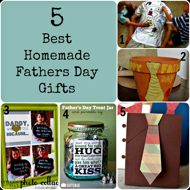 Best ideas about DIY Christmas Presents For Dads . Save or Pin 5 Best homemade Fathers Day Gifts Now.