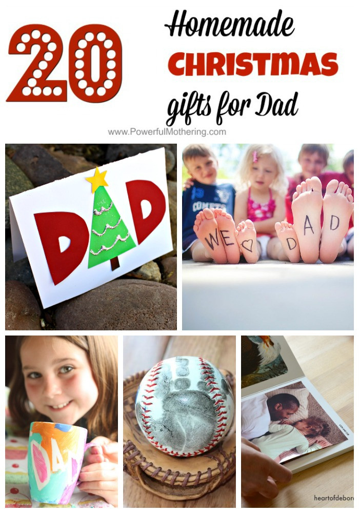 Best ideas about DIY Christmas Presents For Dads . Save or Pin Homemade Christmas Gifts for Dad So Thoughtful Now.